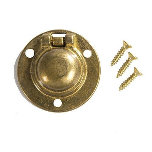 Flush Ring Pull Round 1-1/2