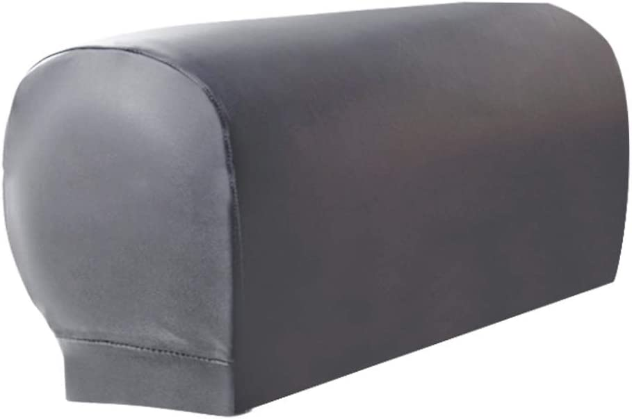 UK Removable Arm Stretch Sofa Couch Chair Protector Armchair Covers Armrest Home