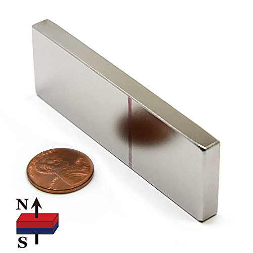 One Piece of CMS Magnetics Super Strong Neodymium Magnet Grade N52 3x1x1/4