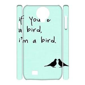 Bird Customized 3D Cover Case for SamSung Galaxy S4 I9500,custom phone case dagongsi567401