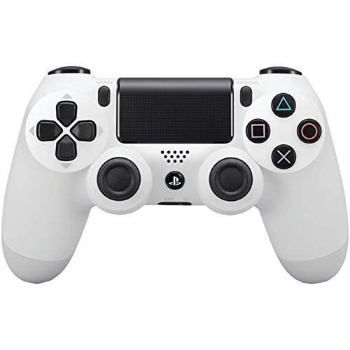 DualShock 4 Wireless Controller for PlayStation 4 - Glacier White (Certified Refurbished)