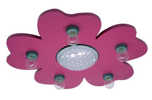Niermann Standby Happy Flower Ceiling Lamp, Purple by Niermann Standby