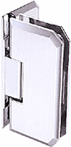 C.R. LAURENCE M0N044CH CRL Chrome Monaco 044 Series Wall Mount Offset Back Plate Hinge ()