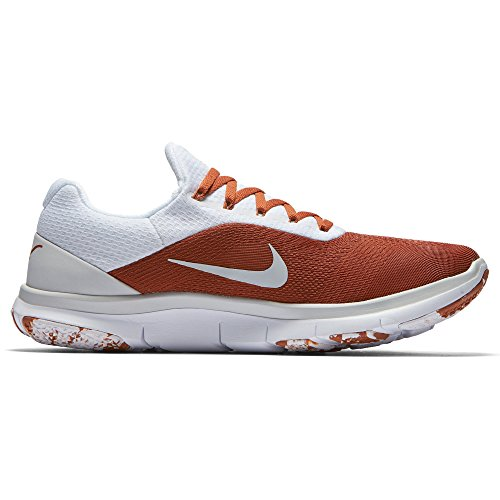 Nike Mens Texas Longhorns Entraîneur Gratuit V7 Semaine Zéro Collection Collège Chaussures - Taille 10 M Us