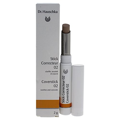 Dr. Hauschka Cover Stick Concealer for Women, 02 Beige, 0.07 (Dr Hauschka Cover Stick)