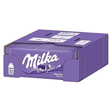 Milka Alpen Leche (paquete de 24 x 100 ...