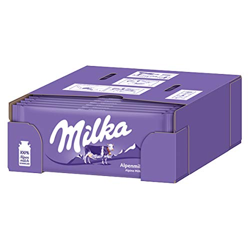 - Milka Alpenmilch Chocolate Bar, 3.5 Ounce (Pack of 24)