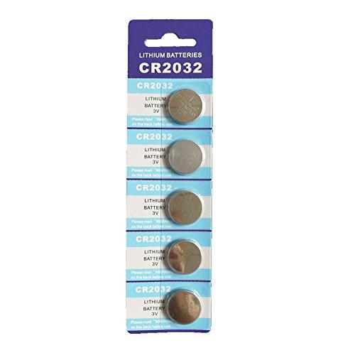 Semoic cr2032 bateria 3v Litio Paquete de 20 (4x5 Paquete): Amazon ...