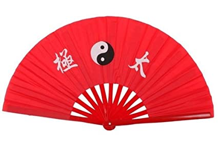 6ec55290d Patty Both New Chinese Kung Fu Martial Arts Dance/Practice Performance Tai  Chi Fan Bamboo