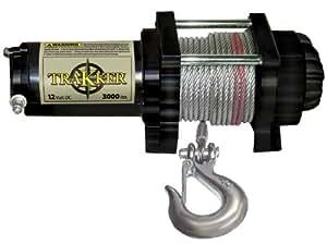 Keeper Corporation KT3000 Trakker 1.475-horsepower Electric Winch - 3,000-Pound Capacity (Black)