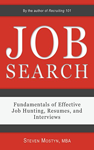 Image for Job Search: Fundamentals of Effective Job Hunting, Resumes, and Interviews