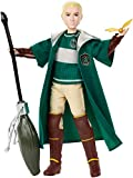 Mattel GDJ71 Harry Potter Quidditch Draco Malfoy, Multicolor