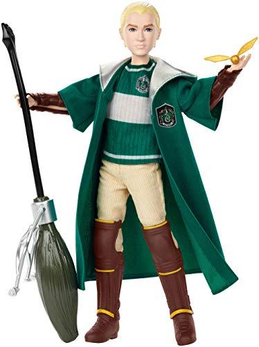 Mattel GDJ71 Harry Potter Quidditch Draco Malfoy, Multicolor -