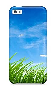 CaseyKBrown For SamSung Note 2 Case CoverRetailer Packaging Blue Sky Green Grass Protective Case
