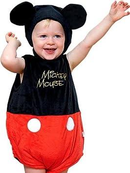 Mickey Mouse - traje de bebé (6-12 months): Amazon.es ...
