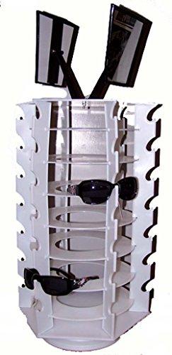 Spinning 42 Pair Sunglass Holder Counter Display Rack