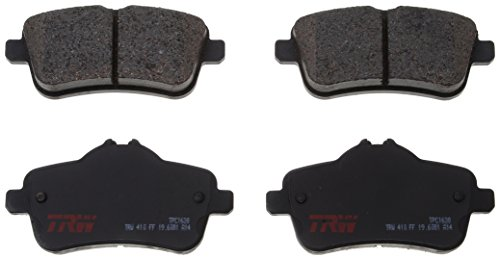 TRW TPC1630 Black Premium Ceramic Rear Disc Brake Pad Set