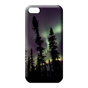iphone 6 Protection PC Pretty phone Cases Covers phone back shell colorful aurora polar light polarization