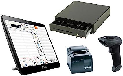SystemeCaisse - Caja registradora con pantalla táctil: Amazon.es ...