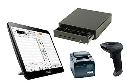 SystemeCaisse - Caja registradora con pantalla táctil