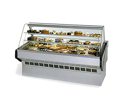 (Federal Industries SQ-8B Market Series Non-Refrigerated Bakery Case)