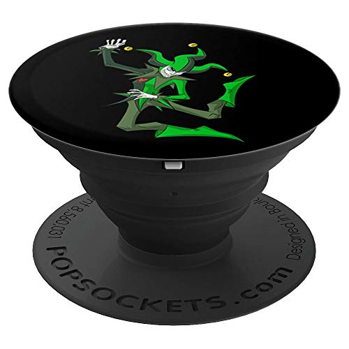 Joker poker jester letters win - PopSockets Grip and Stand for Phones and Tablets