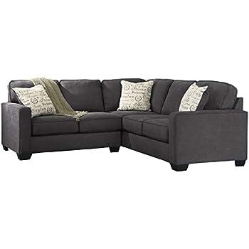 Amazon.com: Ashley Alenya 16600-55-67 2PC Sectional Sofa ...
