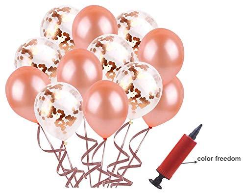 JGA deko Accessoires für den Junggesellinnenabschied,Rose Gold Luftballons+Banner + Schärpe + weißer Schleier mit Kamm + 21 Tattoos für Braut to be,Team Braut (JGA deko)