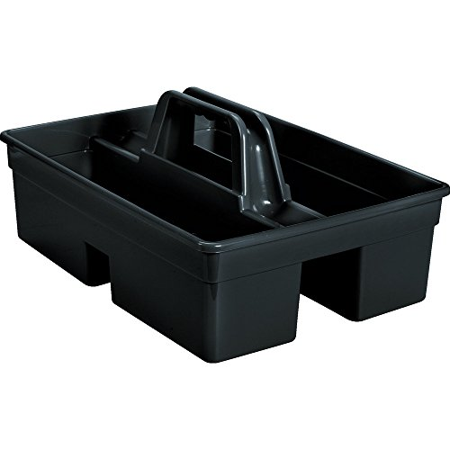 (Rubbermaid Commercial 1880994 Executive Series Carry Caddy, Black)