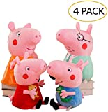 Tickles Peppa Pig Family Soft Stuff Plush Toy for Kids (16 cm)