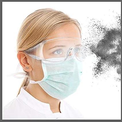 Gafas Protectoras,Gafas de Protección con Lentes Antivaho Resistentes a Salpicaduras,Gafas Transparentes antivaho y antiarañazos para Trabajo y Deporte