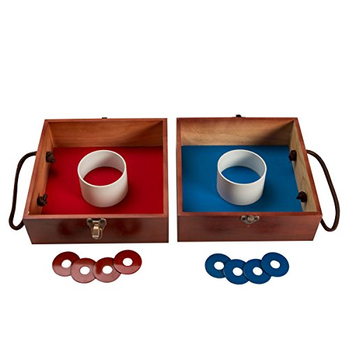S&S Worldwide KYH-07 Deluxe Box Washer Toss Game ()