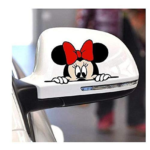 Minnie Mouse Stickers Minnie Mouse Decals Car Styling Cute Cartoon Mickey Minnie -