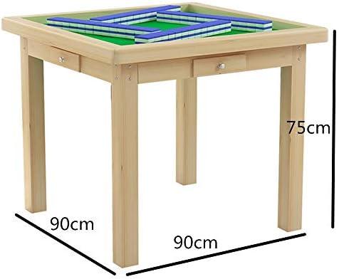Cvbndfe-HE Mesa Plegable Mahjong Portable Simple Mahjong Madera ...