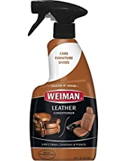 Weiman Leather Cleaner and Conditioner Spray, 16 fl oz