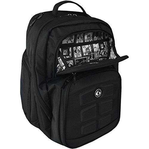 6 Pack Fitness Expedition 300 Stealth Black Bag BLACK by 6 Pack Fitness (Image #3)