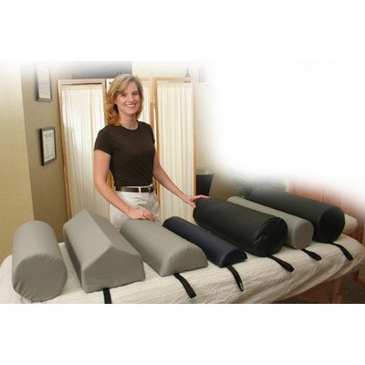 Dutchman Roll Bolster Color: Gray Dutchman Roll Bolster