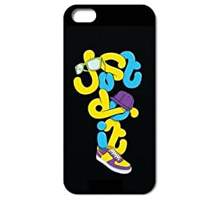 Generic Unique Just Do It style hard cell phone cover case back skin for Iphone 4 4S