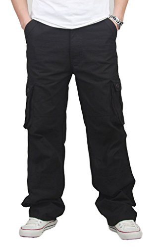CATERTO Men's Spring Cargo Long Pants Outdoor Wear (Ufo Cargo Suit)