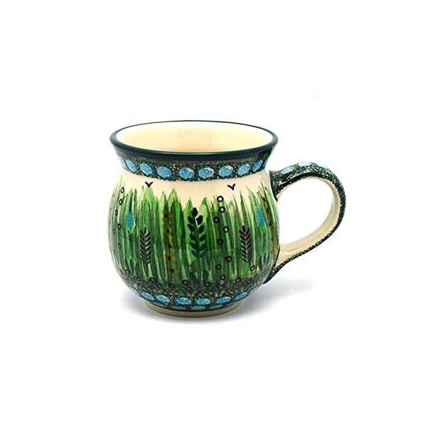 Polish Pottery Mug – 15 oz. Bubble – Unikat Signature U803