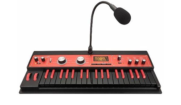 Korg microKORG XL 37 Mini-Key MMT Synth Black/Red (japan import)