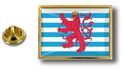 Butterfly Akacha Flag Badge Lussemburgo Clip Con Lion Metal Pins Pin Pin BqwrYpB