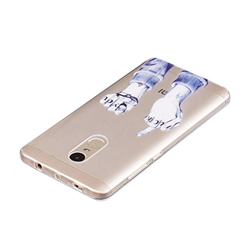 Gel with Anti Case Thin TPU 4 Pen Pattern Case Bumper Transparent Flexible for for Cover Slim Silicone Cover Xiaomi Cute Clear Soft TPU Shell Design Stylus silicone 4 3 Redmi Scratch Xiaomi ZCRO Note Note Redmi OBqFBwd