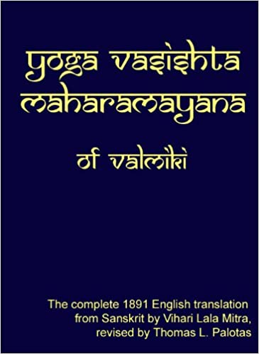 Yoga Vasishta Maharamayana: Valmiki: 9780976078326: Amazon ...