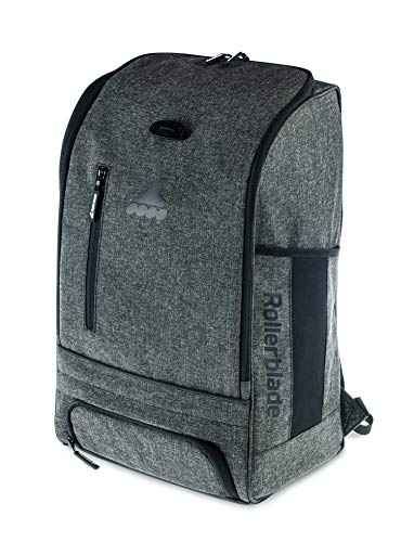 Rollerblade In Line Skate Bag - Rollerblade Urban Commuter Backpack, Inline Skating, Multi Sport, Bag, Grey