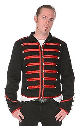 Jawbreaker Mens Steampunk MCR Military Parade Jacket at Amazon Mens Clothing store: