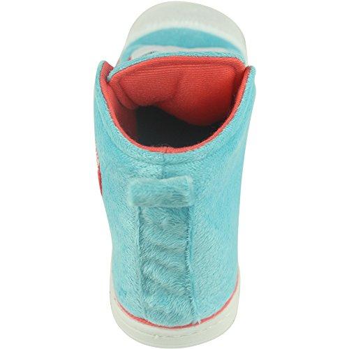 Blau Sneaker Hohe Weihnachten Mens Outdoor Indoor Hausschuhe Gohom Warm Winter Wasser qZPvRR7