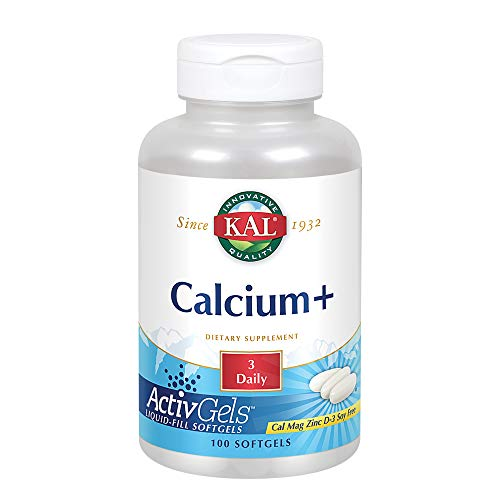 KAL Calcium Plus Tablets, 1000 mg, 100 Count