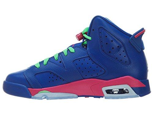 azul 6 Jordan Air Niñas de GG Retro para Nike Running Zapatillas azul Z1Swqx