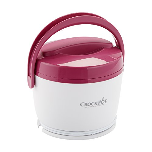 (Crock-Pot SCCPLC200-PK 20-Ounce Lunch Crock Food Warmer, Pink)
